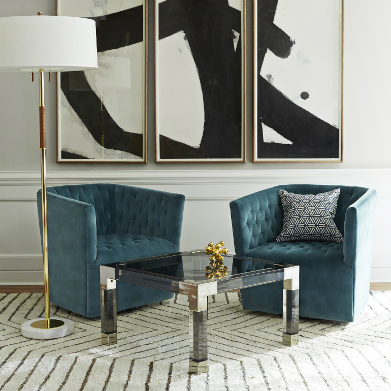 5 Amazing Modern Rugs That Will Transform A Small Space modern rugs 5 Amazing Modern Rugs That Will Transform A Small Space VertigoChairs 01CLONEDcrop styled fall15 jonathan adler