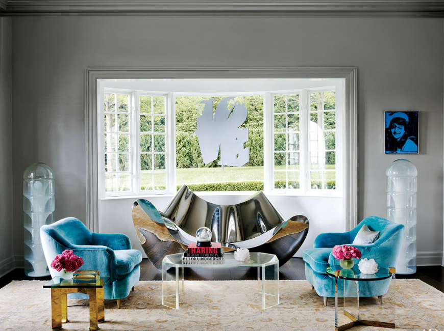 10 Smashing Living Room Rugs In Architectural Digest
