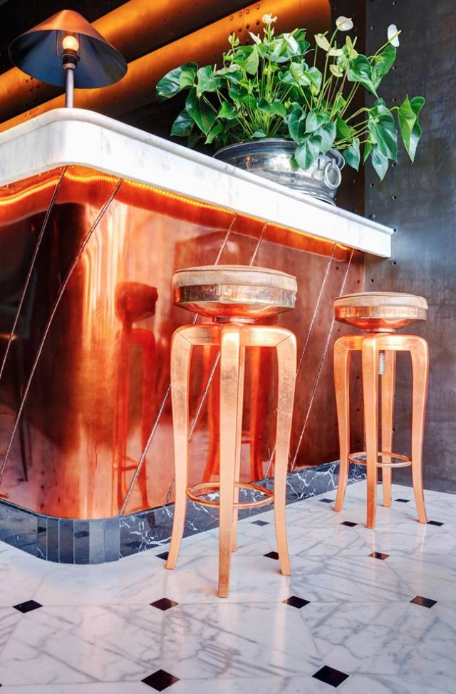 Get Inspired By The Incredible ERWIN Restaurant Interior Design