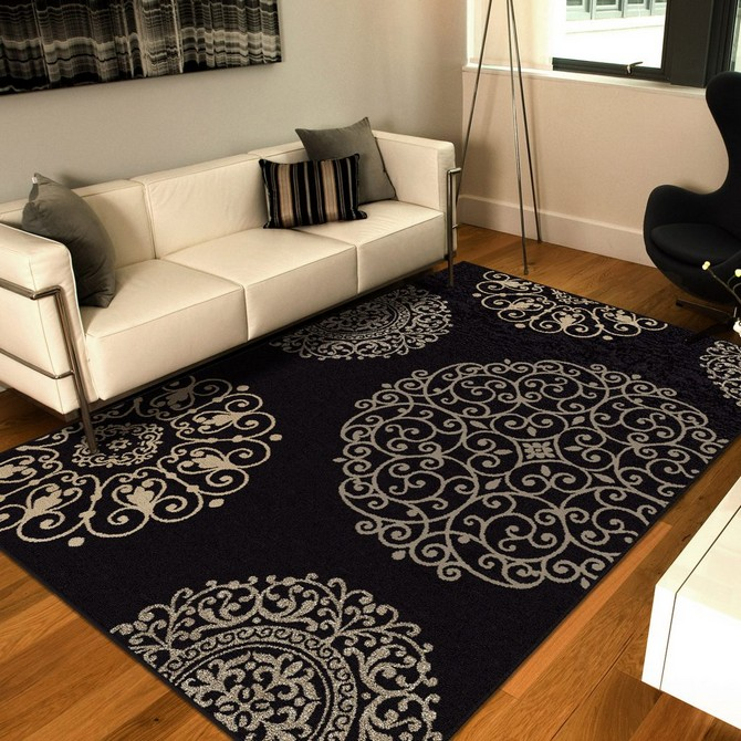 How To Use rug as the inspiration for your home decoration  modern rug How To Use modern rug as the inspiration for your home decoration Contemporary Rugs10