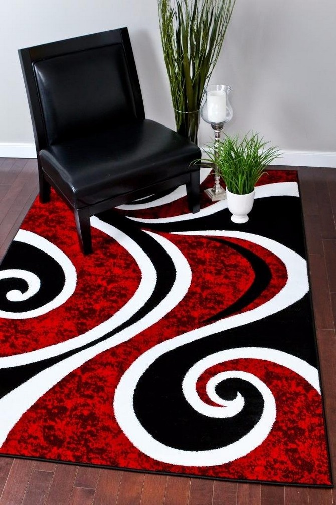 How To Use rug as the inspiration for your home decoration  modern rug How To Use modern rug as the inspiration for your home decoration Contemporary Rugs11