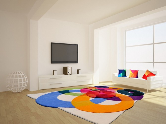 How To Use rug as the inspiration for your home decoration  modern rug How To Use modern rug as the inspiration for your home decoration Contemporary Rugs4