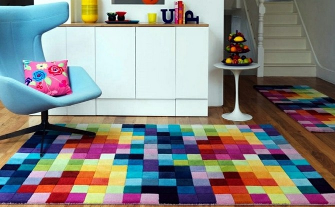 How To Use rug as the inspiration for your home decoration  modern rug How To Use modern rug as the inspiration for your home decoration Contemporary Rugs6