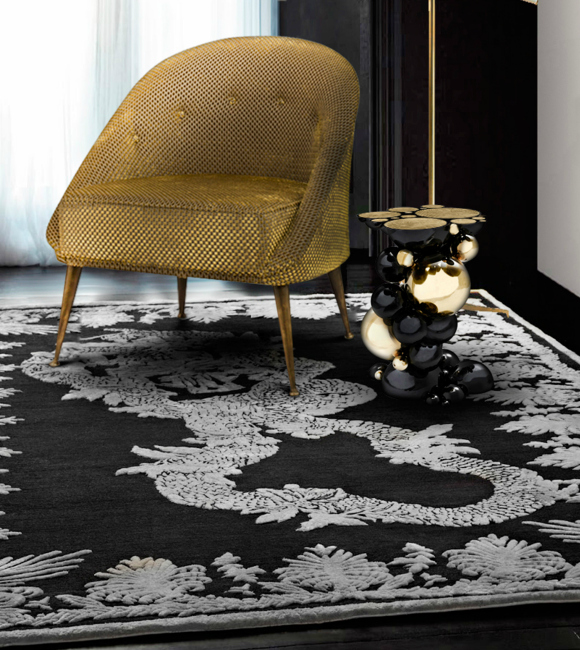 How To Use modern rug as the inspiration for your home decoration