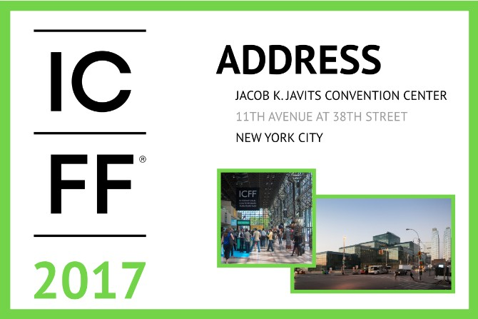 ICFF 2017: A High-End Trade Show Not To Miss Next Week ICFF 2017 ICFF 2017: A High-End Trade Show Not To Miss Next Week Everything You Need to Know about ICFF 2017 7