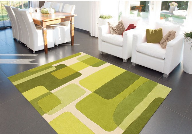 colorful rugs 10 Ways to Decorate Using Pantone's 2017 Colorful Rugs: Greenery gallery 1485176556 wayfair carpet