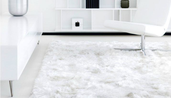 How you should use white contemporary rugs