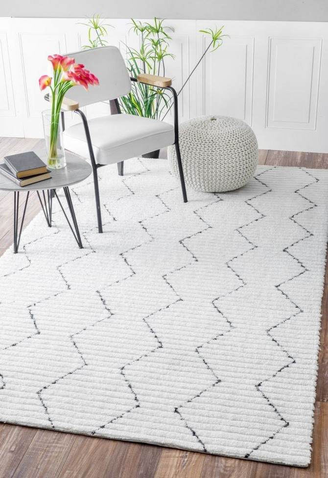 Tips on when you should use white contemporary rugs contemporary rugs How you should use white contemporary rugs feb4880949642fd533ba84d6c937529e