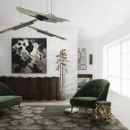 For Broad Living Rooms We Chose Large Rugs!