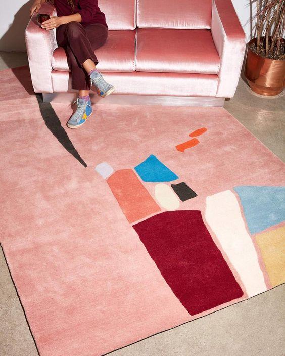Handmade Modern Rug The Handmade Modern Rug: Shop This Look The Handmade Modern Rug Shop This Look 3