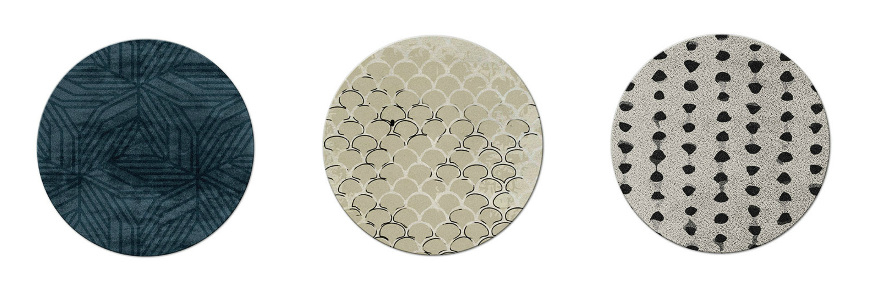 round rug 5 Incredible Round Rugs to Create A Dining Room You Will Adore minigaleria
