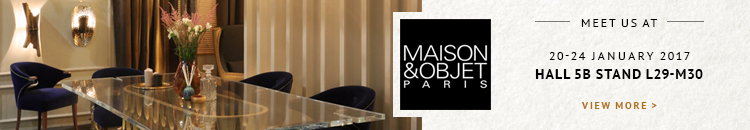 750x130 maison objet paris 2017 5 Incredible Exhibitors Participating In Maison Objet Paris 2017