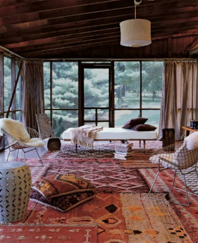 5 Ways To Keep You Warm With Elegant Modern Rugs This Winter_2 Modern Rugs 5 Ways To Keep You Warm With Elegant Modern Rugs This Winter layered rugs large