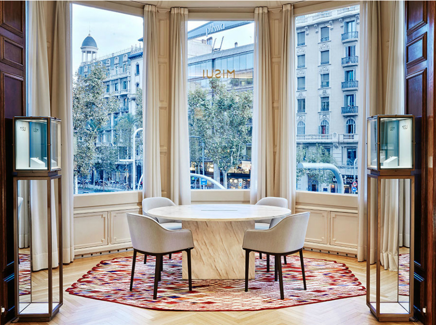 5 Incredible Projects With Contemporary Rugs By Nani Marquina