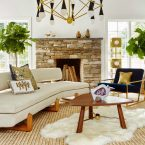 7 Beautiful Ways To Style A Fur Rug In Your Living Room Set