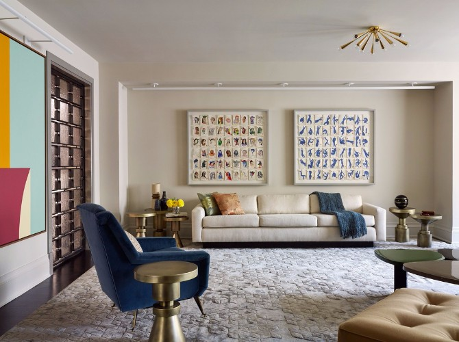 10 More Amazing Living Room Rugs In Architectural Digest 9