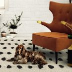 10 Adorable Dogs Who Share The Love For Modern Rugs