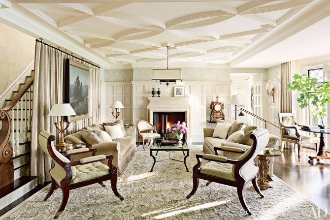 Living Room Rugs: 10 Smashing Ideas In Architectural Digest living room rugs Living Room Rugs: 10 Smashing Ideas In Architectural Digest 10 Smashing Living Room Rugs In Architectural Digest 4