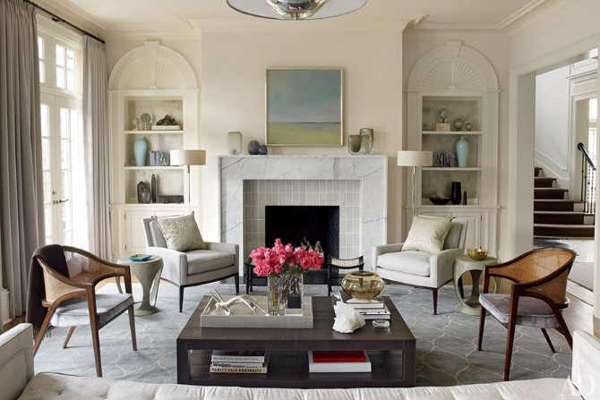 Living Room Rugs: 10 Smashing Ideas In Architectural Digest living room rugs Living Room Rugs: 10 Smashing Ideas In Architectural Digest 10 Smashing Living Room Rugs In Architectural Digest 6