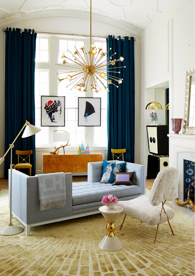 9 Tips On How To Style Modern Rugs Like Jonathan Adler