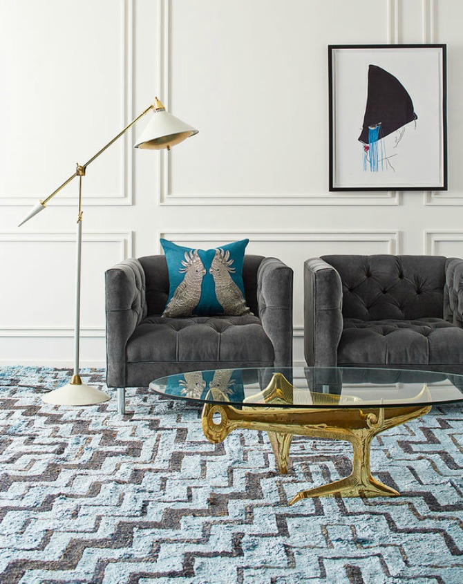 15 Stunning Modern Rugs You Will Want To Have Next Season modern rugs 15 Stunning Modern Rugs You Will Want To Have Next Season Web FA16 BaxterChairs ReformCocktailTable
