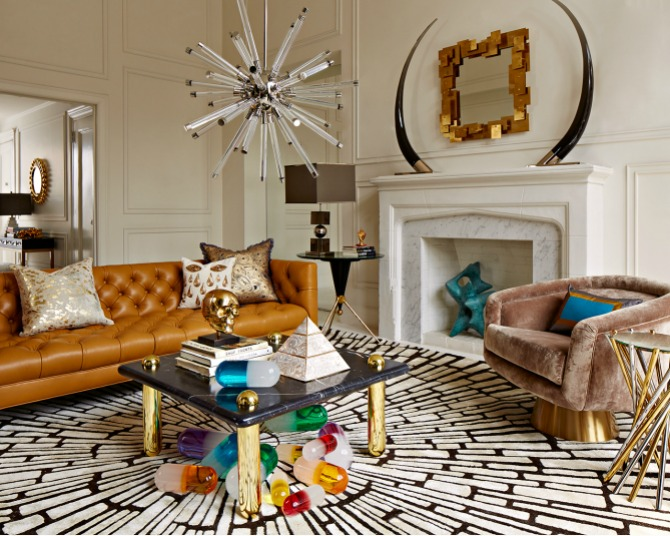 15 Stunning latestRugs You Will Want To Have Next Season modern rugs 15 Stunning Modern Rugs You Will Want To Have Next Season Web FA16 BaxterLeatherSofa UltraCocktailTable LucitePills