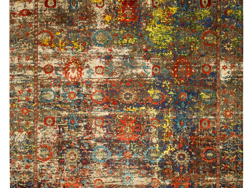 TOP 5 GERMAN CONTEMPORARY RUGS DESIGN YOU WILL LOVE contemporary rugs TOP 5 GERMAN CONTEMPORARY RUGS DESIGN YOU WILL LOVE 4502184 Bidjar Paddington Artwork 18 250cmx300cm 472 2612 ORIGINAL