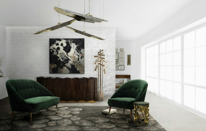 55 Chic Ways To Style modern Rugs Like BRABBU - Part 2 contemporary rugs 55 Chic Ways To Style Contemporary Rugs Like BRABBU - Part 2 LIVING ROOM SET Green