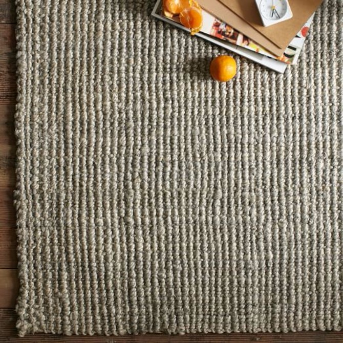How To Pick The Right Pieces For Your Space modern rugs How To Pick The Right Modern Rugs For Your Space jute boucle rug platinum c