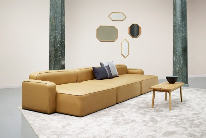 rug exhibitors Top 20 Contemporary Rug Exhibitors At iSaloni 2017 2017 Normann Copenhagen Showroom Rope Sofa 1