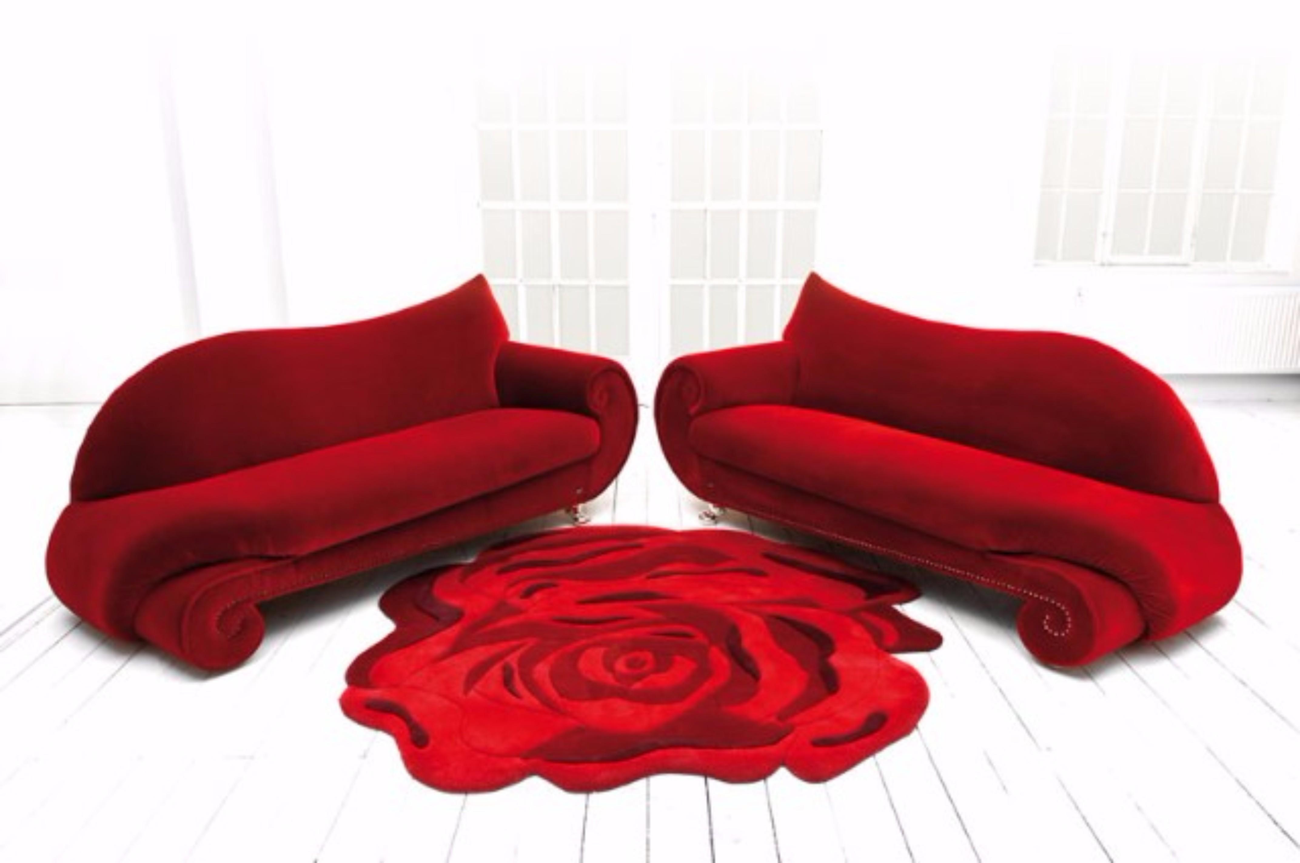 Famous Contemporary Rug Designers contemporary rug designers Famous Contemporary Rug Designers Bretz Gaudi Rose