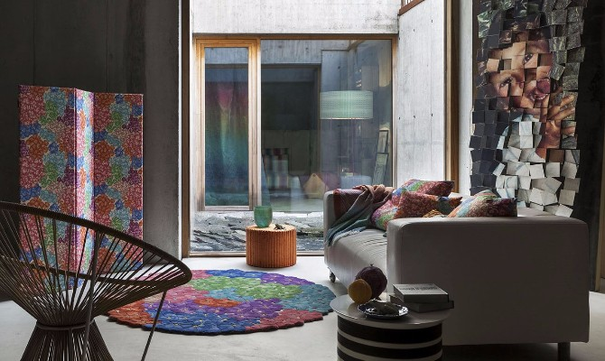 rug exhibitors Top 20 Contemporary Rug Exhibitors At iSaloni 2017 GERANIUM 1