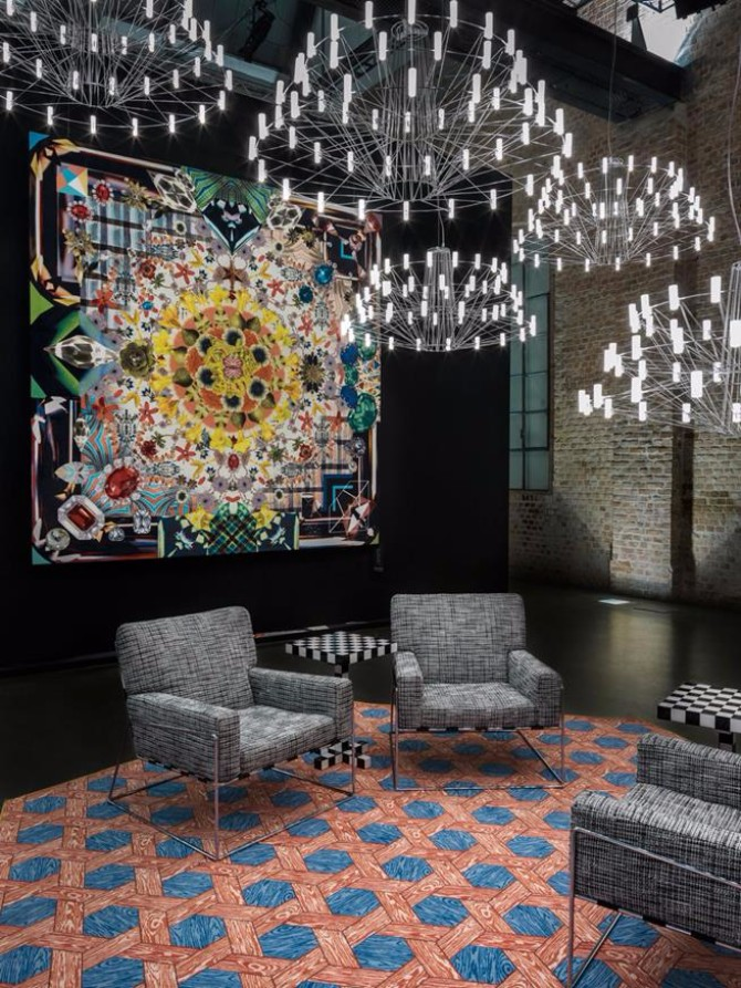 rug exhibitors Top 20 Contemporary Rug Exhibitors At iSaloni 2017 MOOOI NEW CARPETS COLLECTION iSaloni Salone Del Mobile trade fair design show living room ideas interior design magazine designer news luxury homes interior design ideas home inte