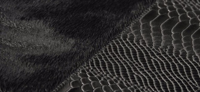 rug exhibitors Top 20 Contemporary Rug Exhibitors At iSaloni 2017 black cobra rug 2