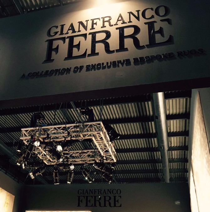 rug exhibitors Top 20 Contemporary Rug Exhibitors At iSaloni 2017 gianfranco Ferre 1