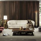 7 FAMOUS LUXURY HOMES WITH SOPHISTICATED MODERN RUGS