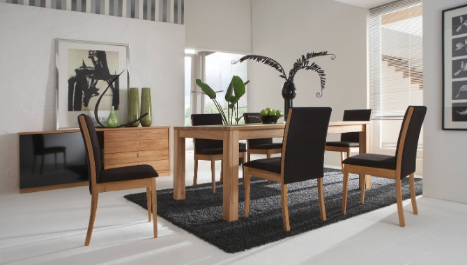 How To Style your home using black modern rugs  modern rugs How To Style your home using black modern rugs Contemporary Rugs for Dining Room
