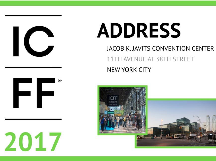 ICFF 2017: A High-End Trade Show Not To Miss Next Week
