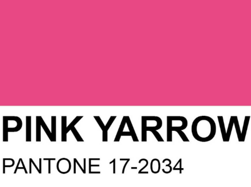 Keep it bold: follow the Summer trends using Pink Rugs! pink rugs Keep it bold: follow the Summer trends using Pink Rugs! PANTONE 17 2034 Pink Yarrow