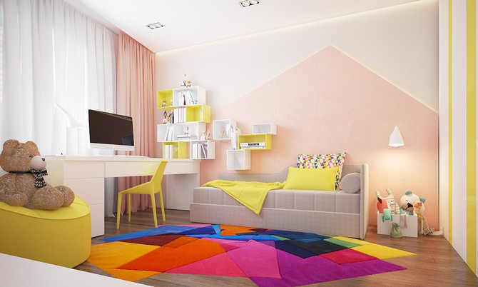 colorful rugs colorful rugs Use colorful rugs to make the best bedroom decoration to your kids! colorful rugs 2