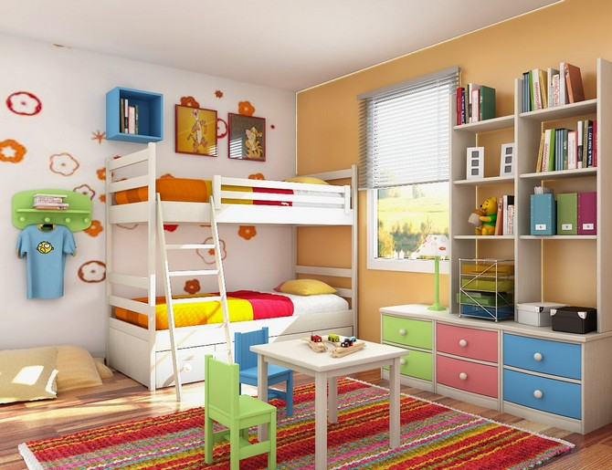 colorful rugs colorful rugs Use colorful rugs to make the best bedroom decoration to your kids! colorful rugs 3