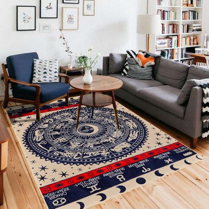 7 Bold Modern Rugs That Honor Fourth Of July Modern Rugs 7 Bold Modern Rugs That Honor Fourth Of July CM Big Carpet For Living Room American Personality Patterns Bedroom font b Rugs b font And