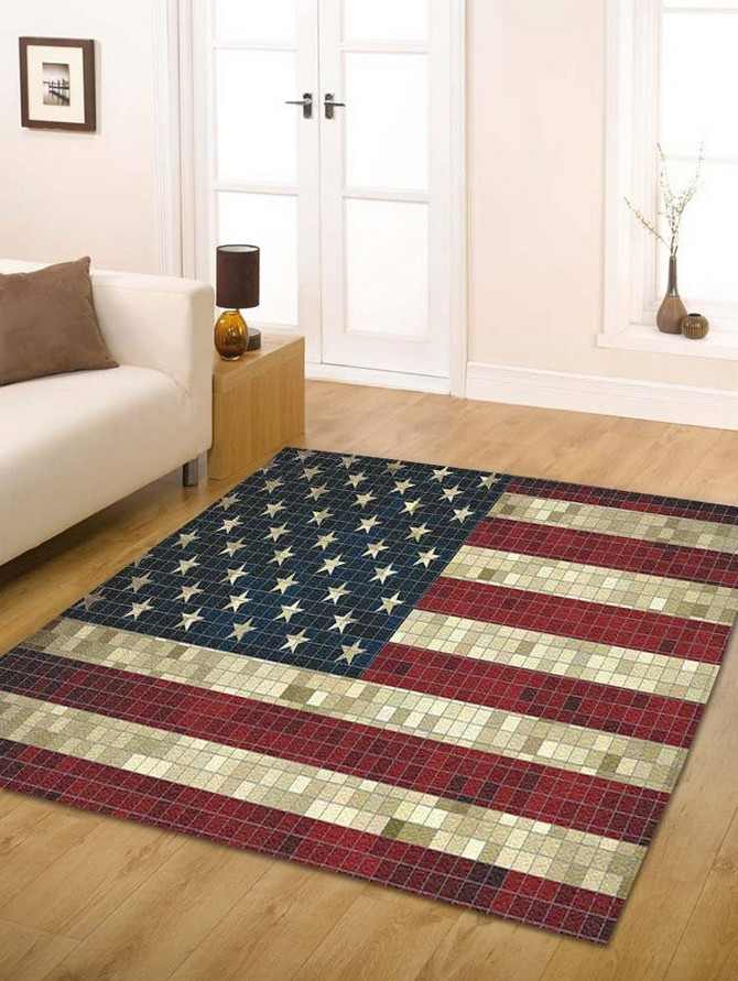 7 Bold Modern Rugs That Honor Fourth Of July Modern Rugs 7 Bold Modern Rugs That Honor Fourth Of July 20170425092629 61777