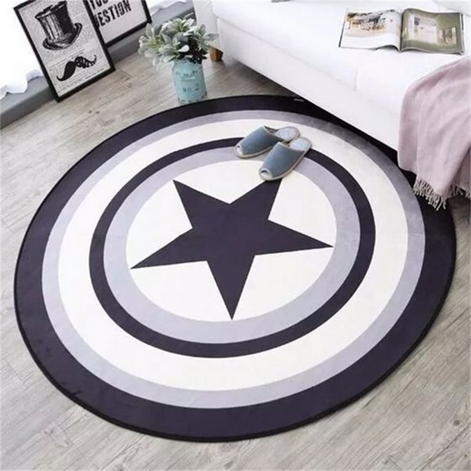7 Bold Rugs That Honor Fourth Of July Modern Rugs 7 Bold Modern Rugs That Honor Fourth Of July Fashion Soft Round Flannel Decorative Carpet Foot Door Yoga Chair Play Mat Pad Bathroom Hallway Area
