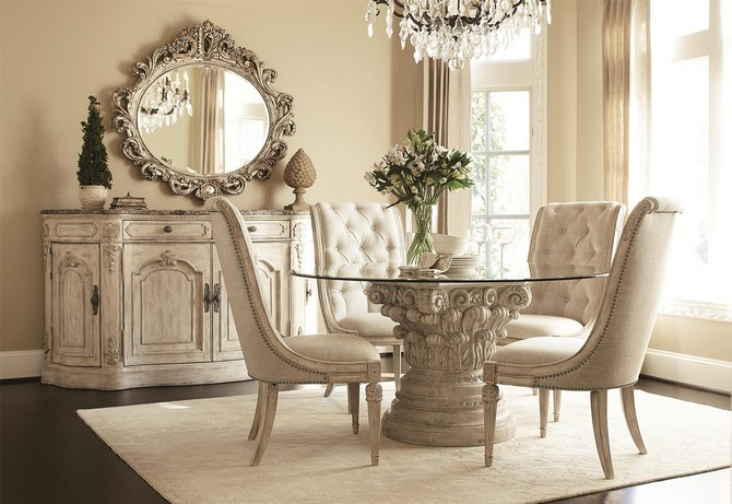 CONTEMPORARY GLAMOROUS DINING ROOM RUGS  dining room rugs CONTEMPORARY GLAMOROUS DINING ROOM RUGS – Part II Noble dining room in consistent color tone of light cream