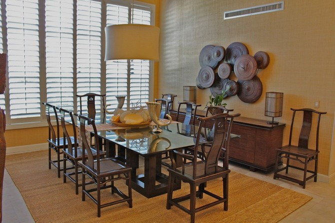 CONTEMPORARY GLAMOROUS DINING ROOM RUGS  dining room rugs CONTEMPORARY GLAMOROUS DINING ROOM RUGS – Part II Rustic dining room with a rug that feels fresh