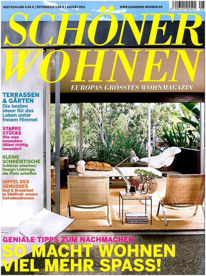Luxury Rugs - Top 5 Brands You Must Know luxury rugs Luxury Rugs – Top 5 Brands You Must Know Schoener wohnen August 2011 Cover 02