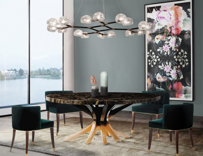 CONTEMPORARY GLAMOROUS DINING ROOM RUGS  dining room rugs CONTEMPORARY GLAMOROUS DINING ROOM RUGS – Part II brabbu ambience press 95 HR