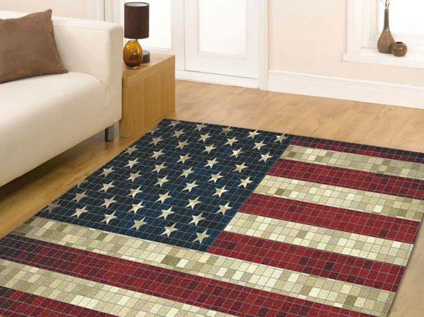 7 Bold Modern Rugs That Honor Fourth Of July