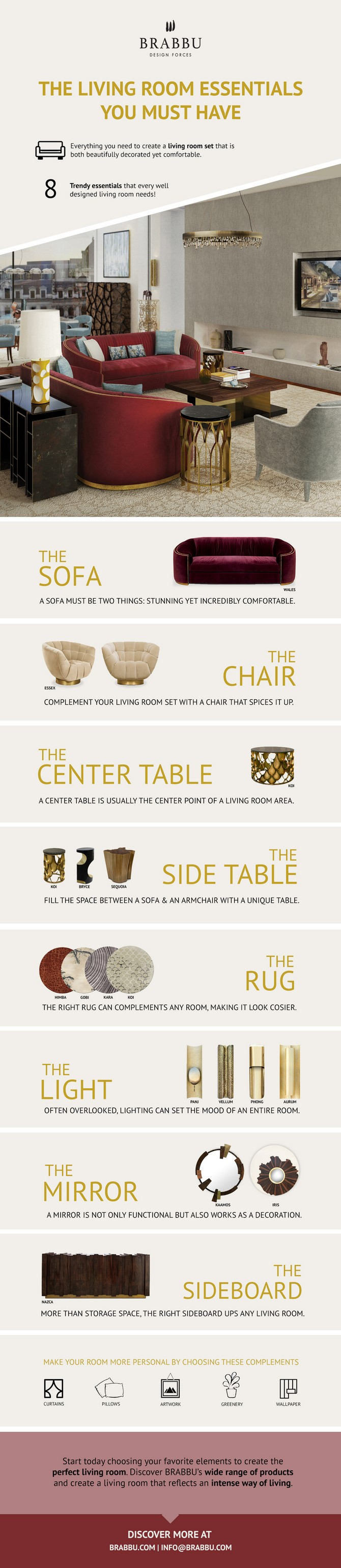 design rugs Design rug: a must-have living room essential! infografic